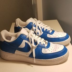 Custom blue air force 1